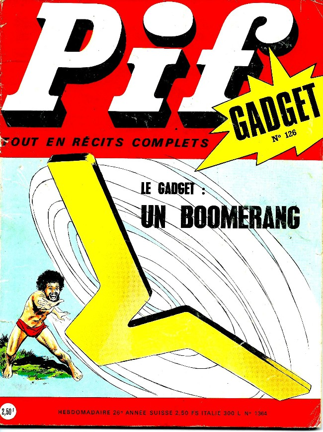 Couverture de Pif (Gadget) -126- Feu follet