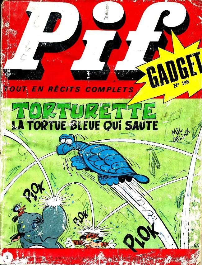 Couverture de Pif (Gadget) -198- Variation autour d'une pomme
