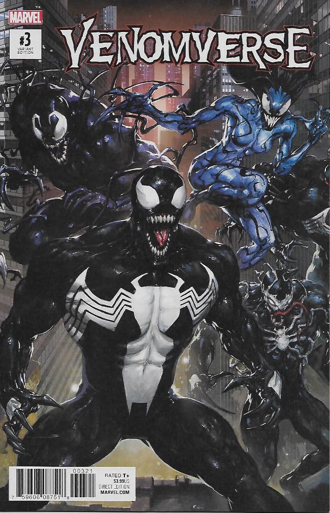 Couverture de Venomverse (2017) -3A- Issue #3