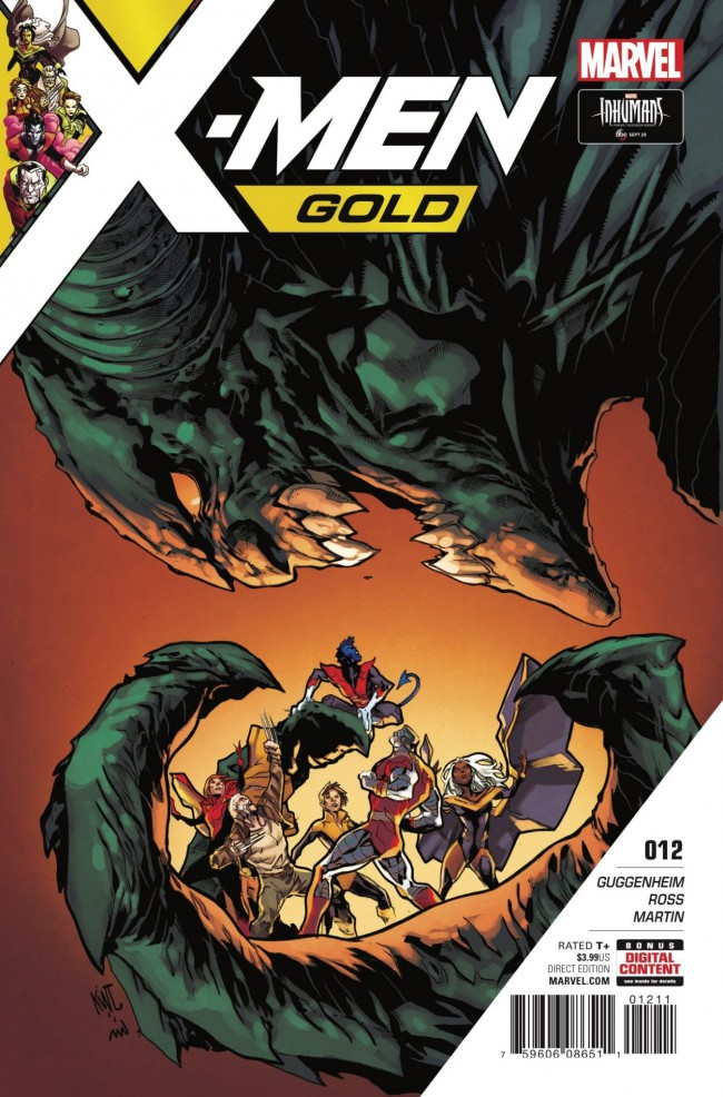 Couverture de X-Men: Gold (2017) -12- Kologoth