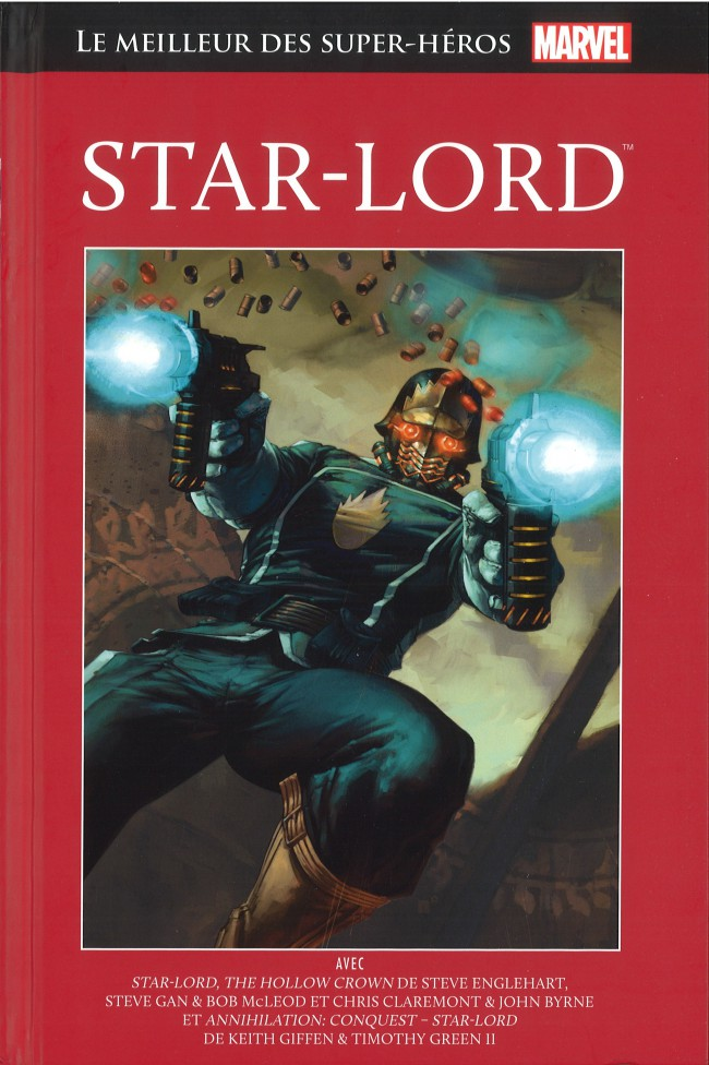 Couverture de Marvel Comics : Le meilleur des Super-Héros - La collection (Hachette) -44- Star-Lord