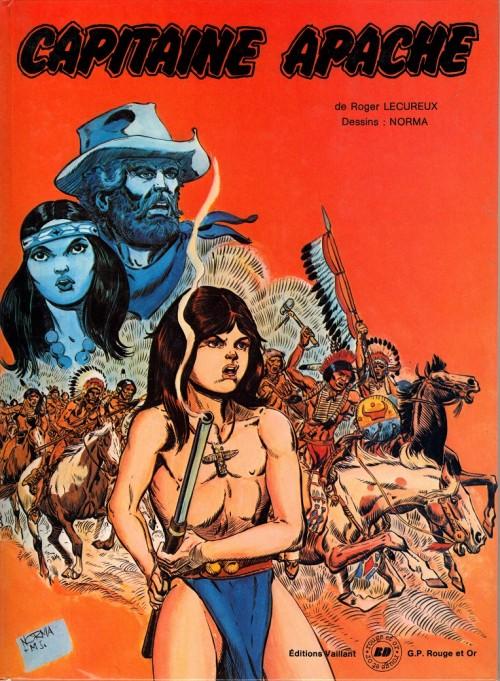 Couverture de Capitaine Apache - Tome 1