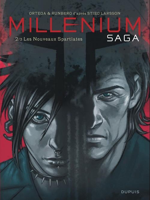 Couverture de Millénium Saga -2- Les Nouveaux Spartiates