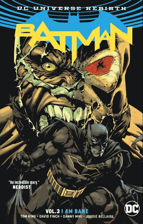 Couverture de Batman (2016) -INT03- I am bane