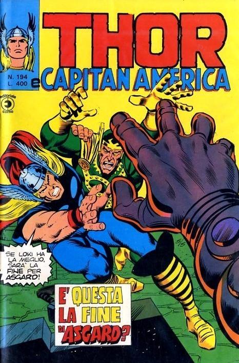 Couverture de MiticoThor (Il) -194- E' questa la Fine di Asgard?