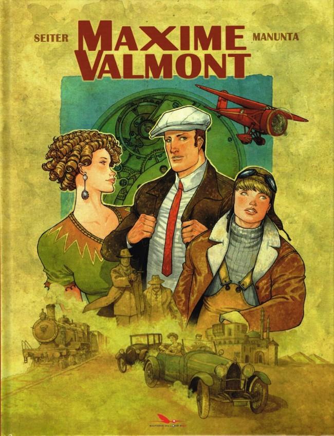 Couverture de Maxime Valmont - Tome 1