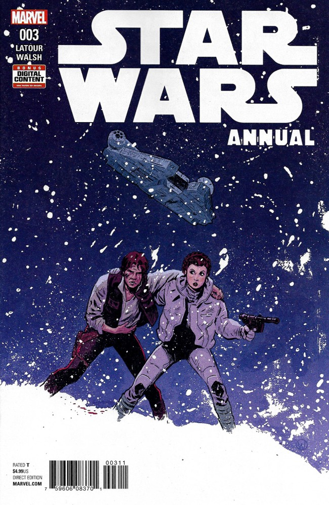 Couverture de Star Wars Annual (2016) -3- Star Wars Annual III