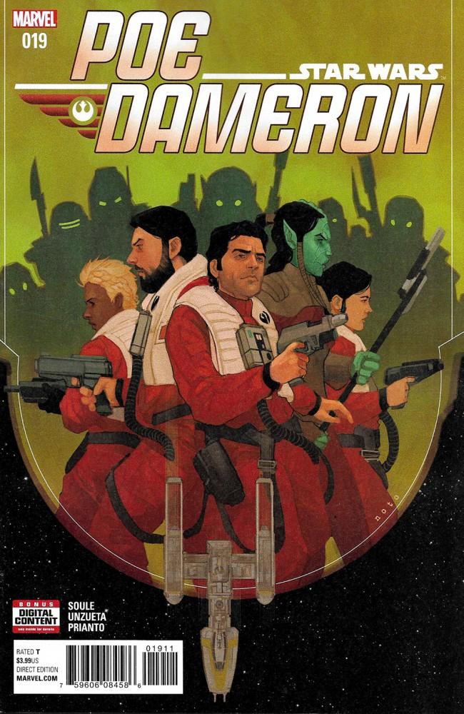 Couverture de Poe Dameron (2016) -19- War Stories Part III
