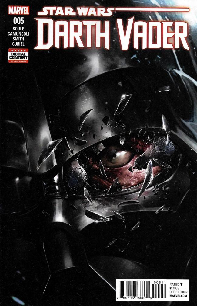 Couverture de Darth Vader (2017) -5- The Chosen One Part V