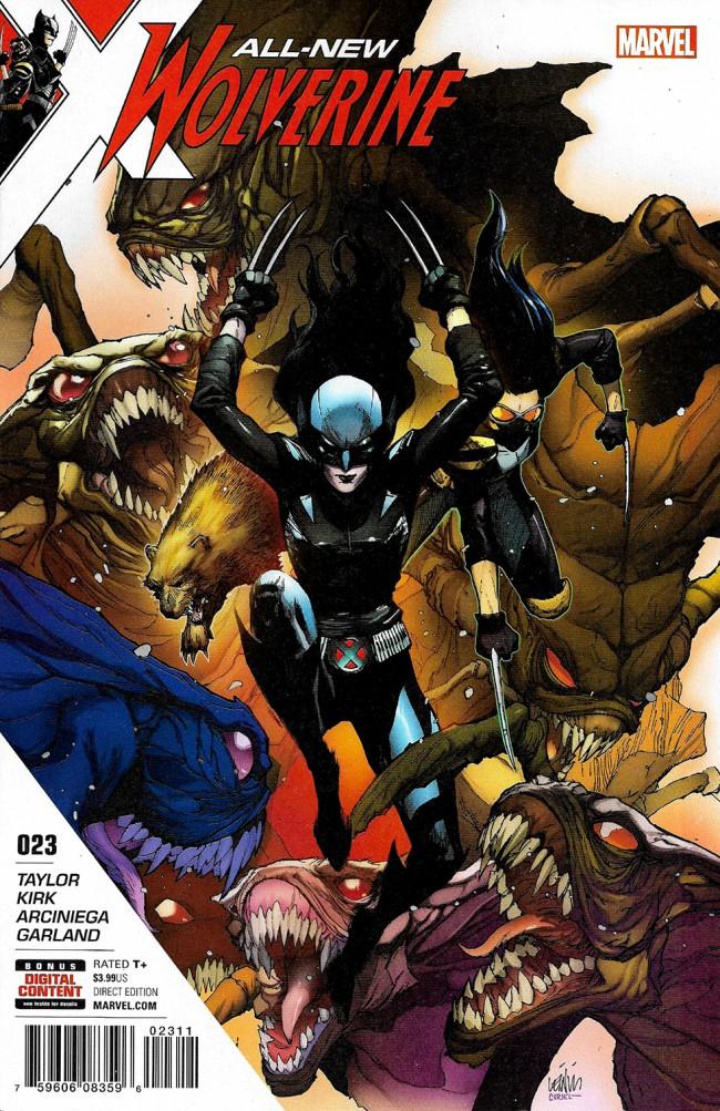 Couverture de All-New Wolverine (2016) -23- Hive Part 2 Of 3