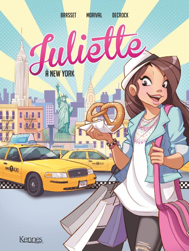Couverture de Juliette à New York - Tome 1