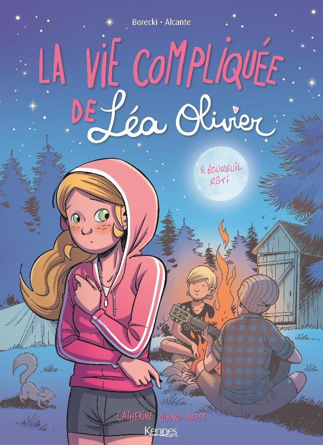 Couverture de La vie compliquée de Léa Olivier -5- Écureuil Rôti