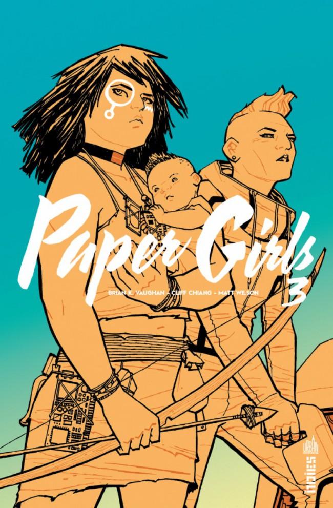 Couverture de Paper Girls -3- Tome 3