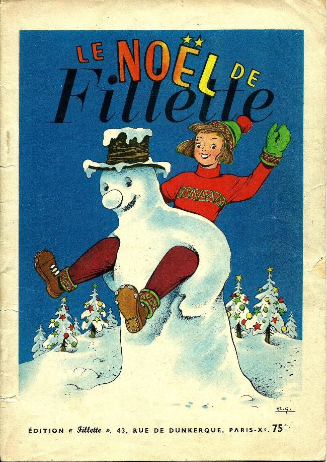 Couverture de Fillette (Après-guerre) -HS57/12- Le Noël de Fillette