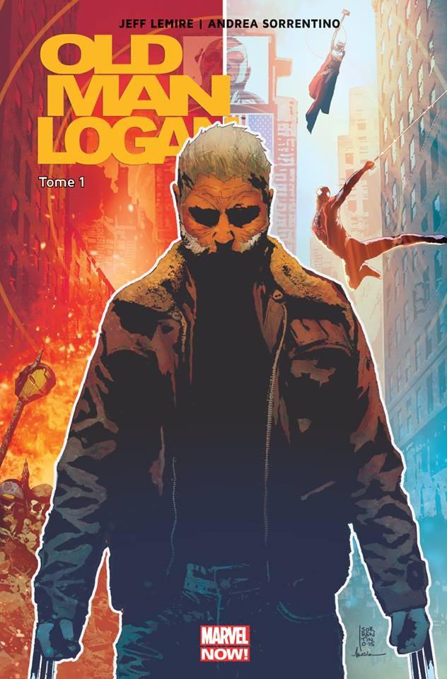 Couverture de Old Man Logan -1- Folie furieuse