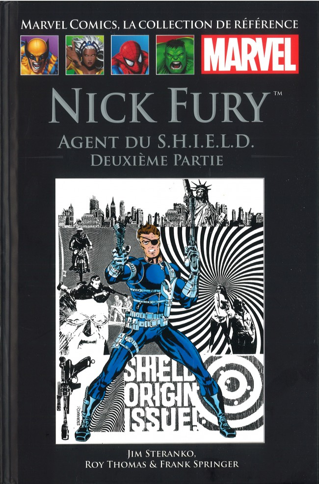 Couverture de Marvel Comics - La collection (Hachette) -95VII- Nick Fury - Agent du S.H.I.E.L.D. Deuxième Partie
