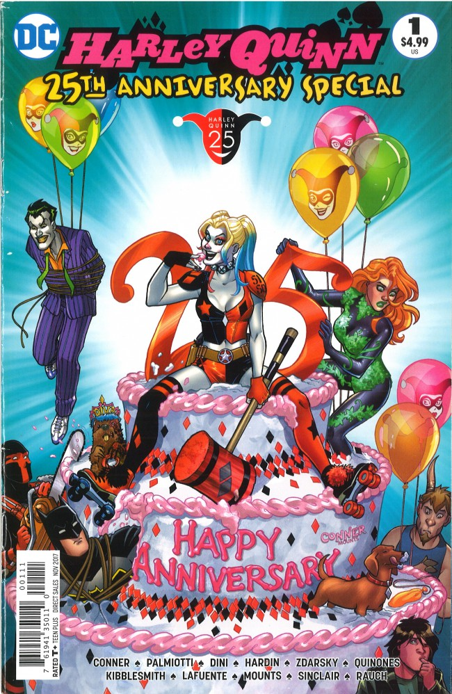 Couverture de Harley Quinn 25th Anniversary Special (2017) -1- Harley Quinn 25th Anniversary Special