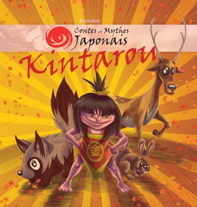 Couverture de Contes et Mythes Japonais -3- Kintarou