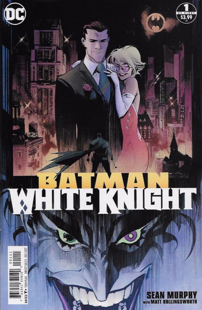 Couverture de Batman: White Knight (2017) -1- Issue 1