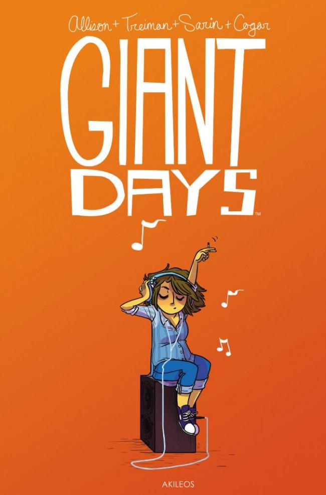 Couverture de Giant Days -2- Tome 2