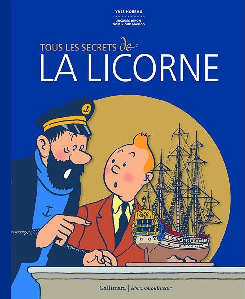 Couverture de Tintin - Divers - Tous les secrets de la licorne