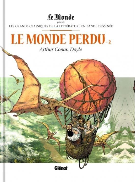 Couverture de Les grands Classiques de la littérature en bande dessinée -20- Le Monde perdu - 2