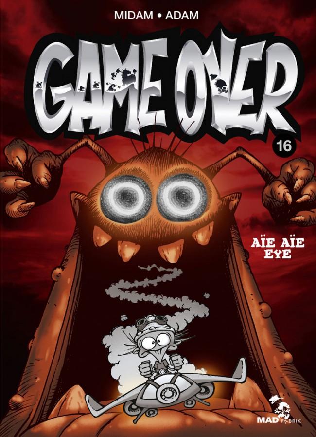 Couverture de Game Over -16- Aïe aïe eye