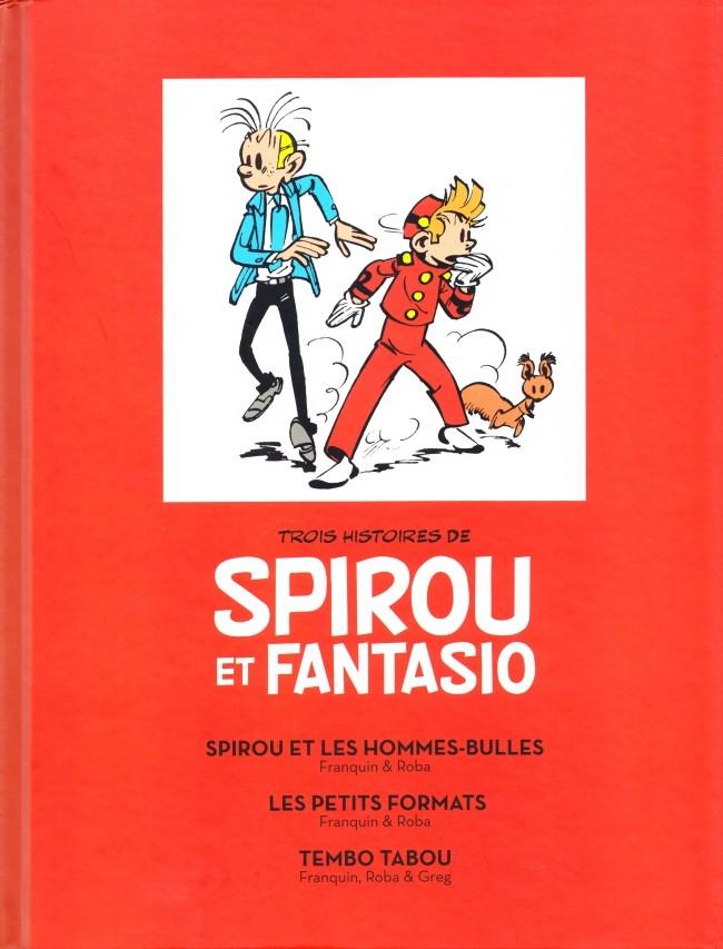 Couverture de Spirou et Fantasio -2- (Divers) - Trois histoires de Spirou et Fantasio