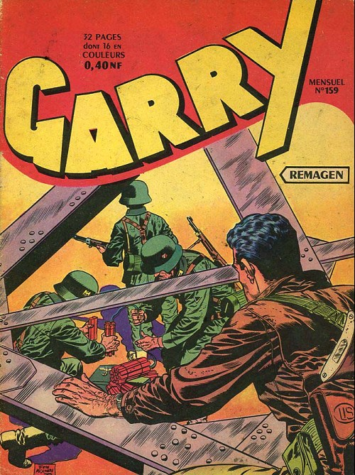Couverture de Garry -159- Remagen