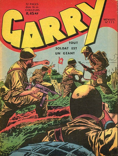 Couverture de Garry -173- Tout soldat est un géant