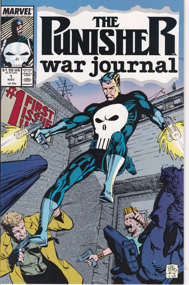 Couverture de Punisher War Journal Vol.1 (Marvel comics - 1988) -1- An Eye for an Eye Chapter One Sunday in the Park