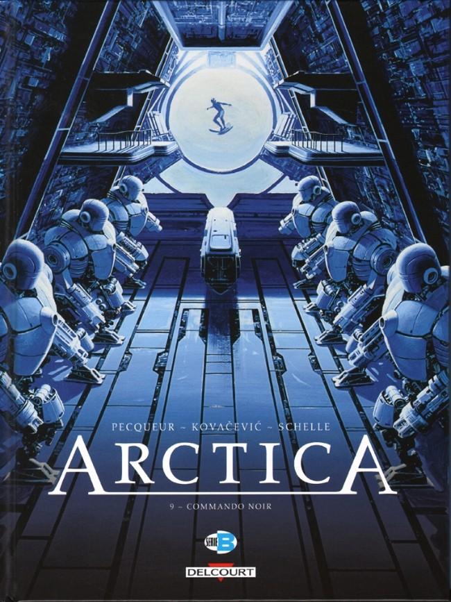 Couverture de Arctica -9- Commando noir