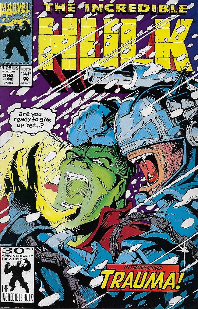 Couverture de Incredible Hulk (The) (1968) -394- Cold Storage