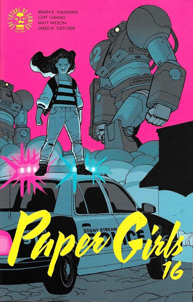 Couverture de Paper Girls (Image comics - 2015) -16- Paper Girls