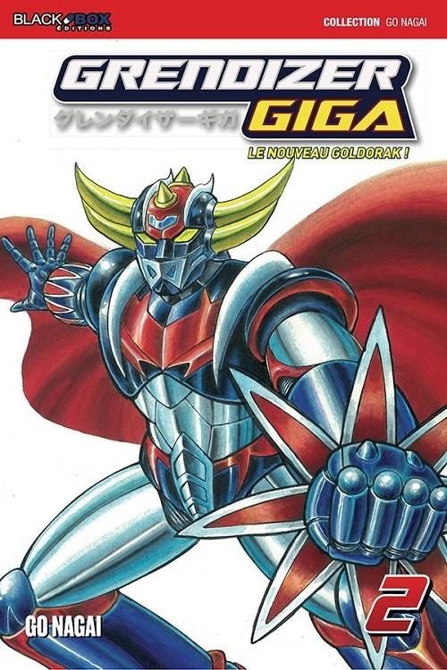 Couverture de Grendizer Giga : Le Nouveau Goldorak -2- Tome 2