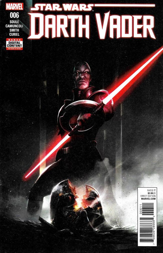 Couverture de Darth Vader (2017) -6- The Chosen One Part VI