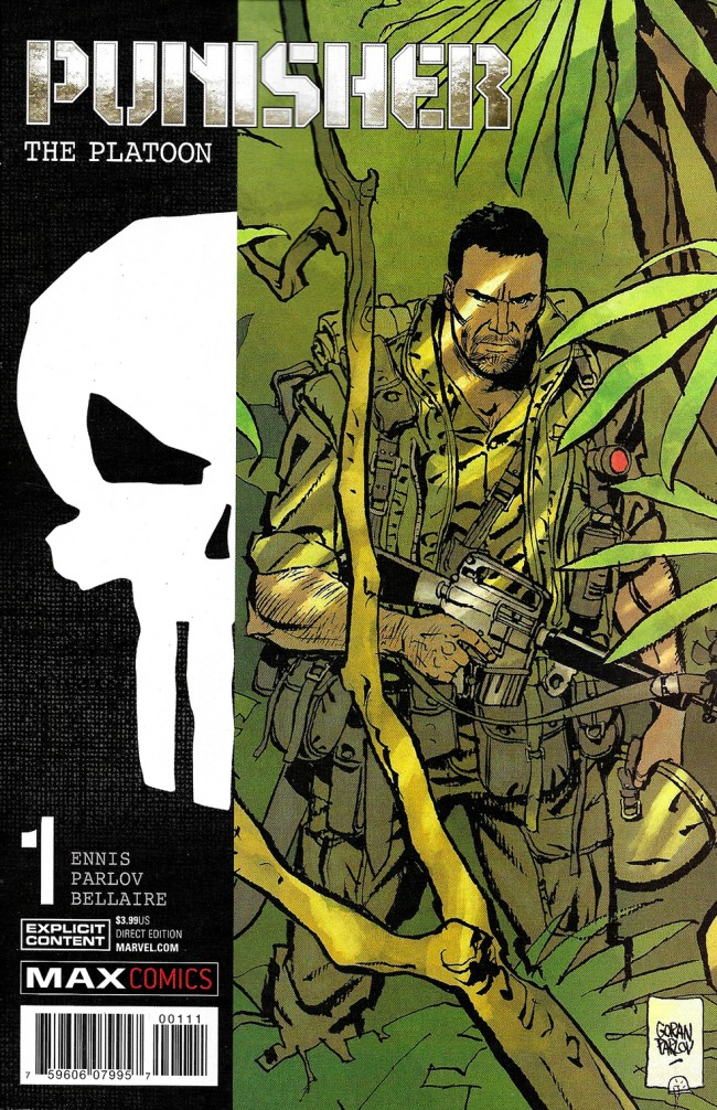 Couverture de Punisher: The Platoon (2017) -1- Punisher: The Platoon