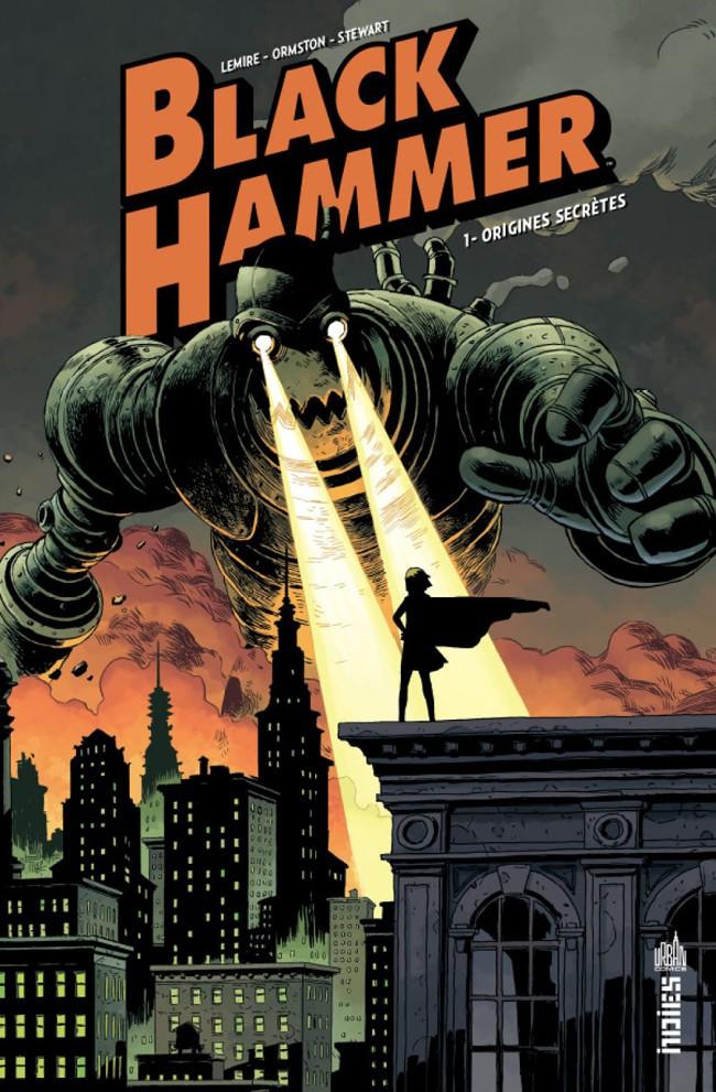 Couverture de Black Hammer -1- Origines secrètes
