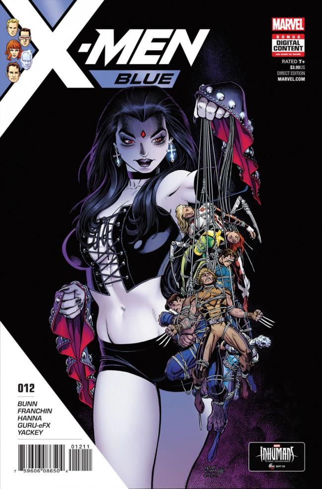 Couverture de X-Men: Blue (2017) -12- Toil and Trouble: Part 3