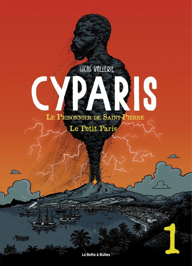Couverture de Cyparis - Le prisonnier de Saint-Pierre -Num1- Le Petit Paris