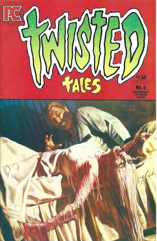 Couverture de Twisted tales (1982) -6- NO.6