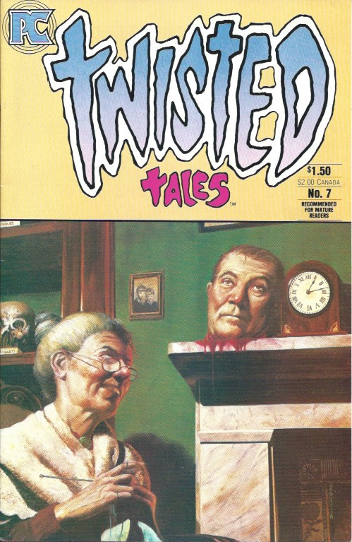 Couverture de Twisted tales (1982) -7- NO.7