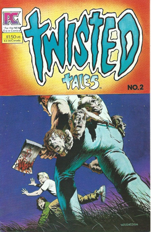 Couverture de Twisted tales (1982) -2- NO. 2