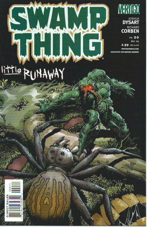 Couverture de Swamp Thing (2004) -20- Little runaway