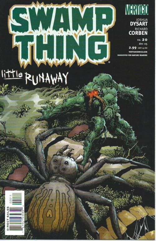 Couverture de Swamp Thing Vol.4 (DC comics - 2004) -20- Little Runaway