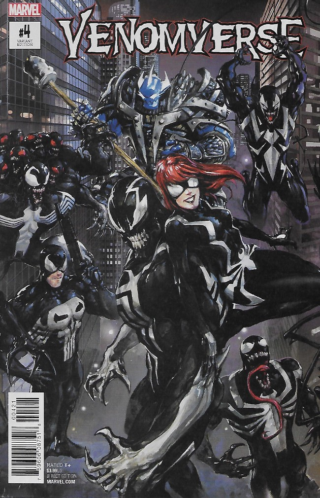 Couverture de Venomverse (2017) -4A- Issue #4