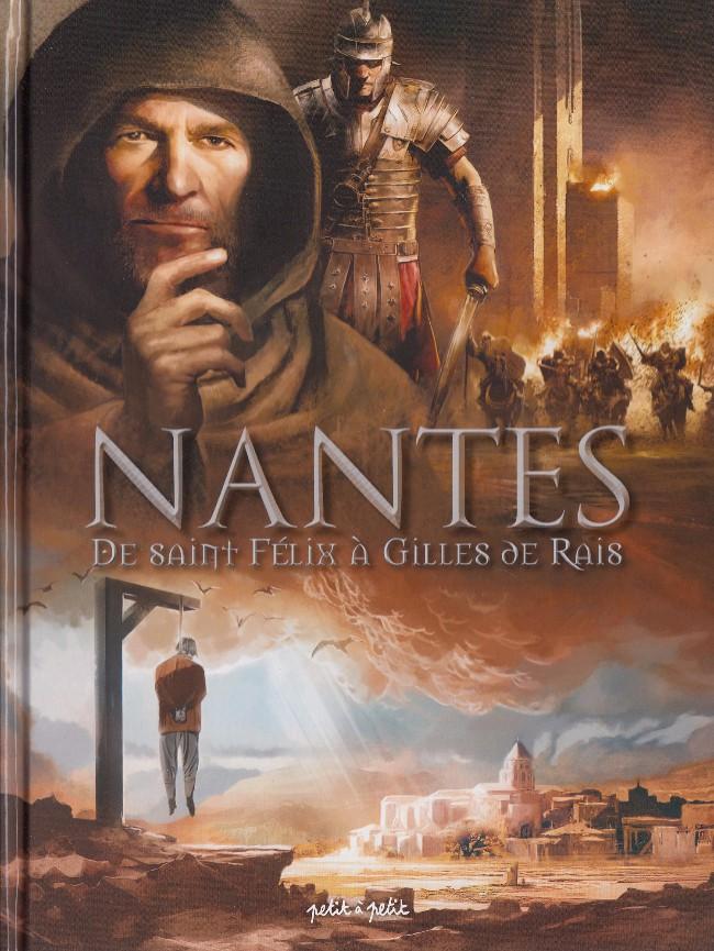 Couverture de Nantes -1- De Saint Félix à Gilles de Rais