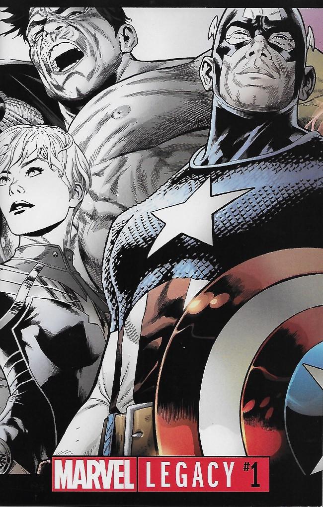 Couverture de Marvel Legacy -1M- Issue #1