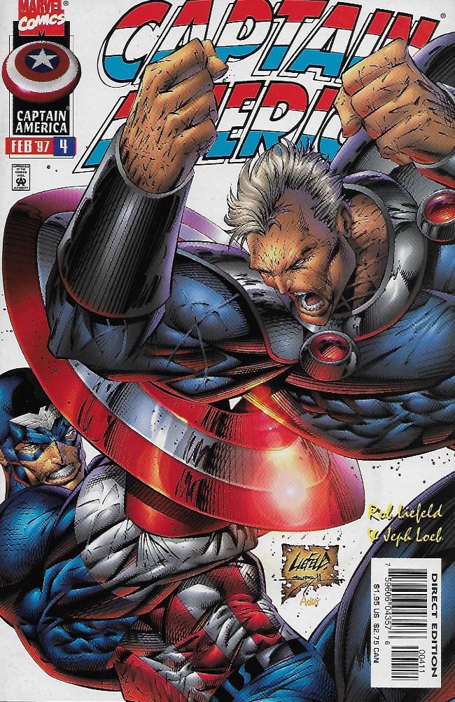 Couverture de Captain America (1996) -4- Fire