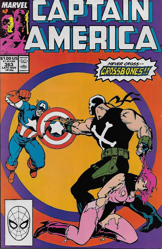 Couverture de Captain America (1968) -363- Moon over Madripoor